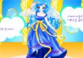 Appealing Blue Fashion Icon