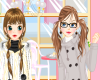 Cold Days Girls Dress up Icon