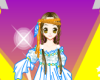 Colorful Girl Icon