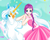 Fairy And The Unicorn Icon