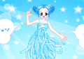 Fashionable doll Icon