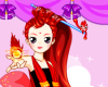 Fire Ball Princess Icon