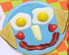 Funny Food Face Icon
