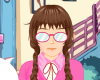 Girl Dress Up And Makeover Icon