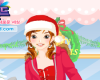 Girl In Christmas Morning Icon