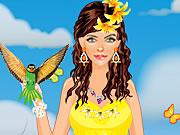 Princess Of Lilies Dress Up Icon