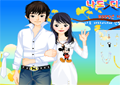Spring Couple Dress Up Icon