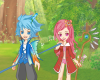 Spring Fairy Couple Icon
